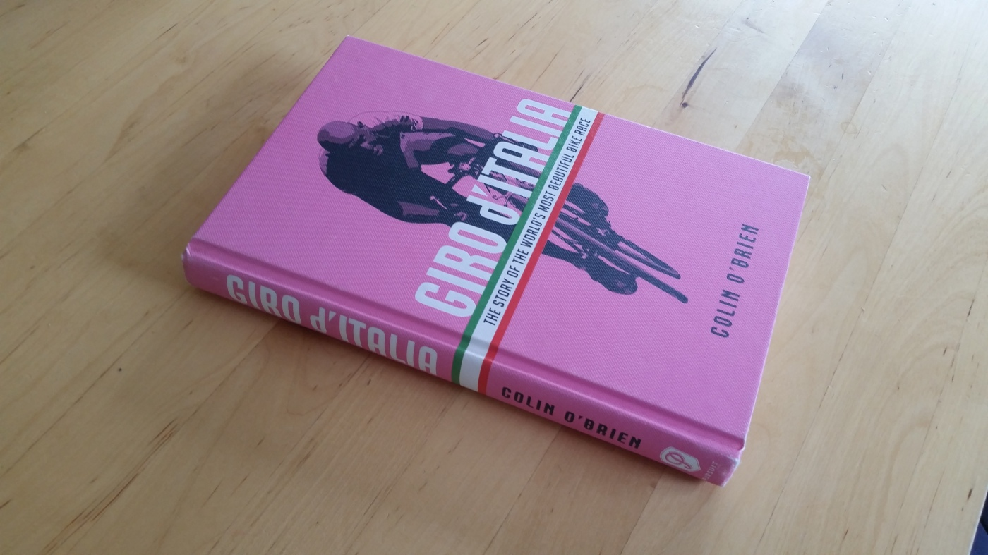Giro d'Italia – The Story of the World's Most Beautiful Bike Race, to give  it it's full title, is exactly what it says on the cover.